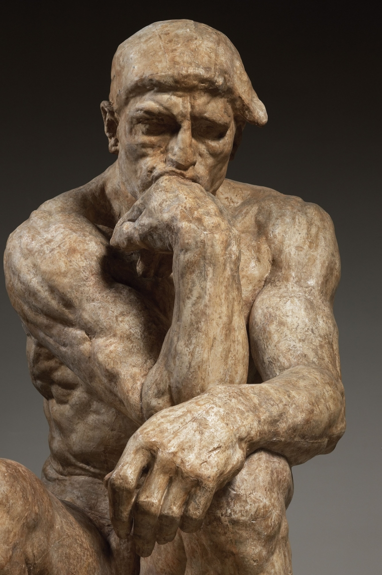 Auguste Rodin (1840-1917), The Thinker, large version, 1903.