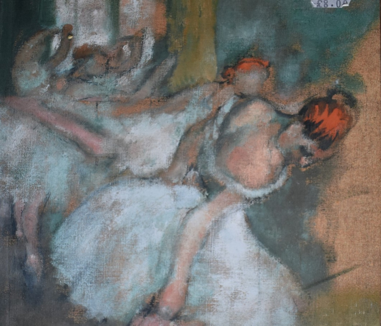 2. Degas (1834-1917), Balletdansers, collectie National Gallery Londen