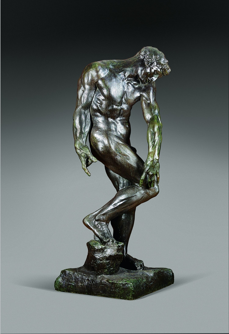 Auguste Rodin (1840-1917), Adam (for The Gates of Hell),1881.