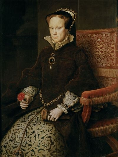 Queen Mary Tudor of England by Anthonis Mor.
