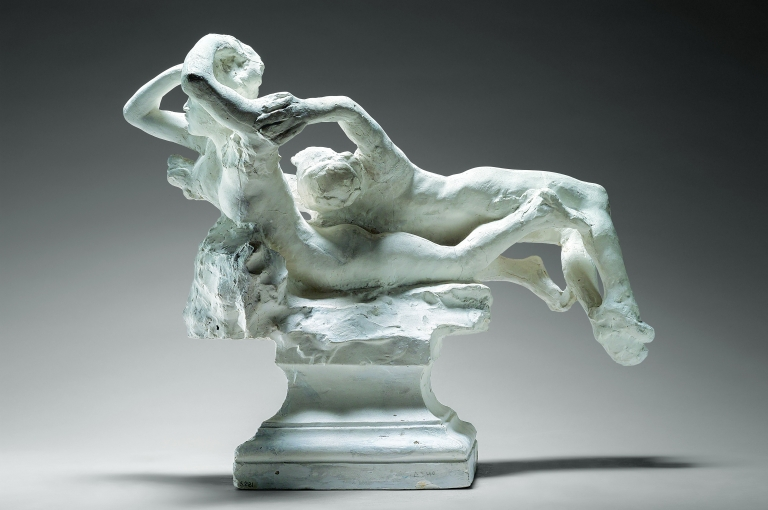 Auguste Rodin (1840-1917), Fugit Amor (for The Gates of Hell), about 1887.