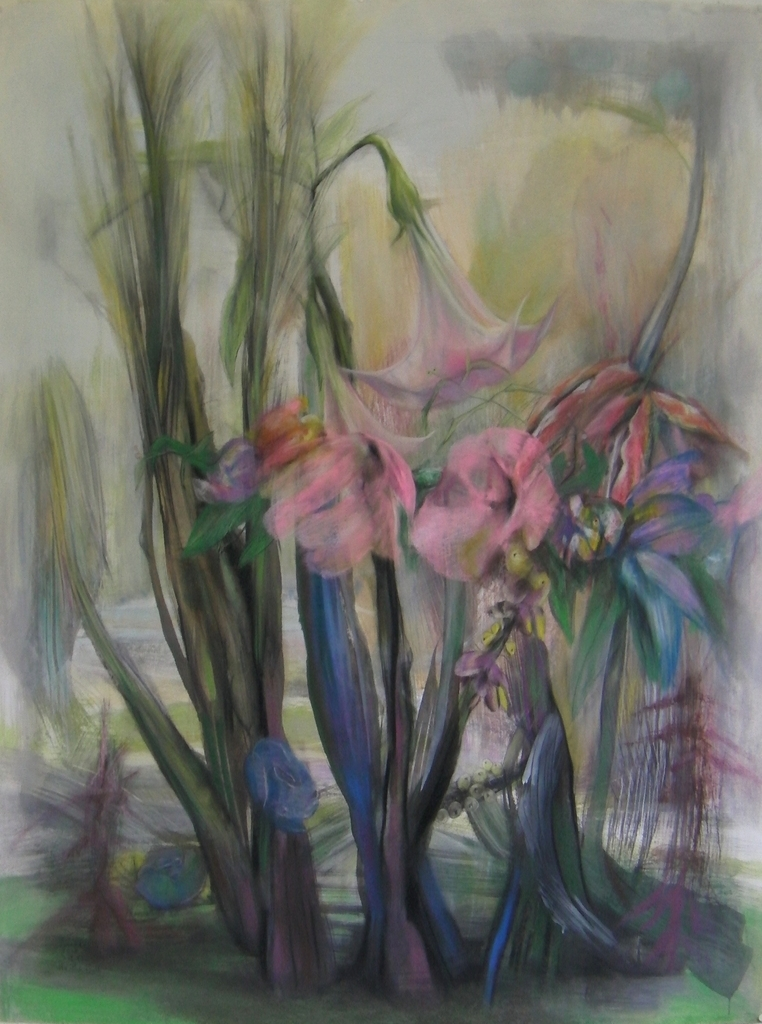 Sounds of Nature serie, The Pink Bells, 120 x 160cm, 2018