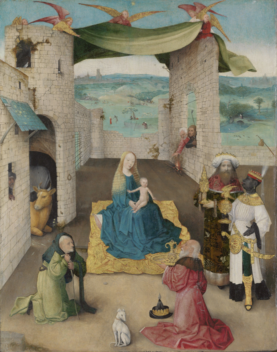 Jheronimus Bosch, The Adoration of the Magi (ca. 1475) The Metropolitan Museum of Art, John Stewart Kennedy Fund, New York